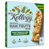 Kellogg's Nuts & Raw Fruits - Barres De Céréales - Pomme Et ... - 4x30g