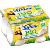 Nestlé Nestle La Laitière - Le Yaourt Nature - Biologique - 4x125g