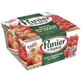 Yoplait Panier De  - Yaourt Aux Fruits - Fraise - X4