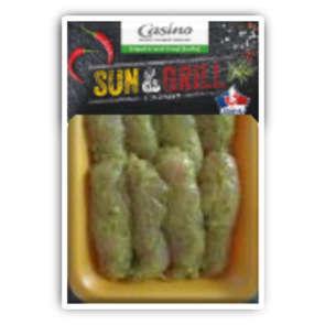Aiguillettes de poulet marinées thym citron - x8
