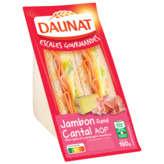 Daunat Escales Gourmandes - Auvergne - Sandwich Jambon Fumé...