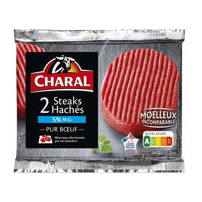 Steaks hachés - 5% mg