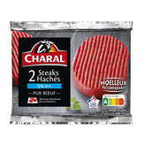 Charal Steaks Hachés - 5% Mg - 2