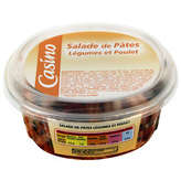 Salade de pâtes - Légumes et poulet