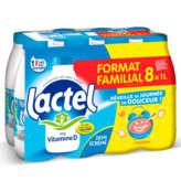 Lactel Lait U.h.t Demi-écrémé - 8x1 L