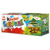 Kinder Kinder Surprise - Œuf Chocolat - Natoons - X3