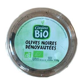 Olives noires dénoyautées - Biologique