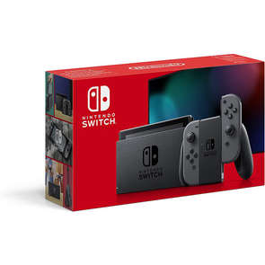 Console SWITCH avec Joy-con gris