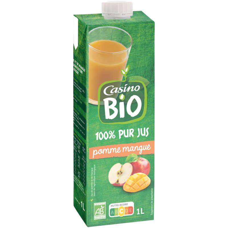 Jus pomme, mangue Bio 1L