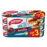 Saupiquet SAUPIQUET Filets de maquereaux grillés - Goût Barbecue - 3x120g