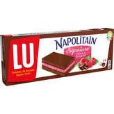 LU Lu Napolitain - Chocolat Framboise - 6 Génoise Fourrées - 174g