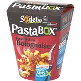 Sodeb'O SODEBO Pasta'box - Pâtes fusilli - Bolognaise - 300g