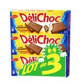 Delacre DELACRE DéliChoc Chocolat au Lait - 3x150g (450g)