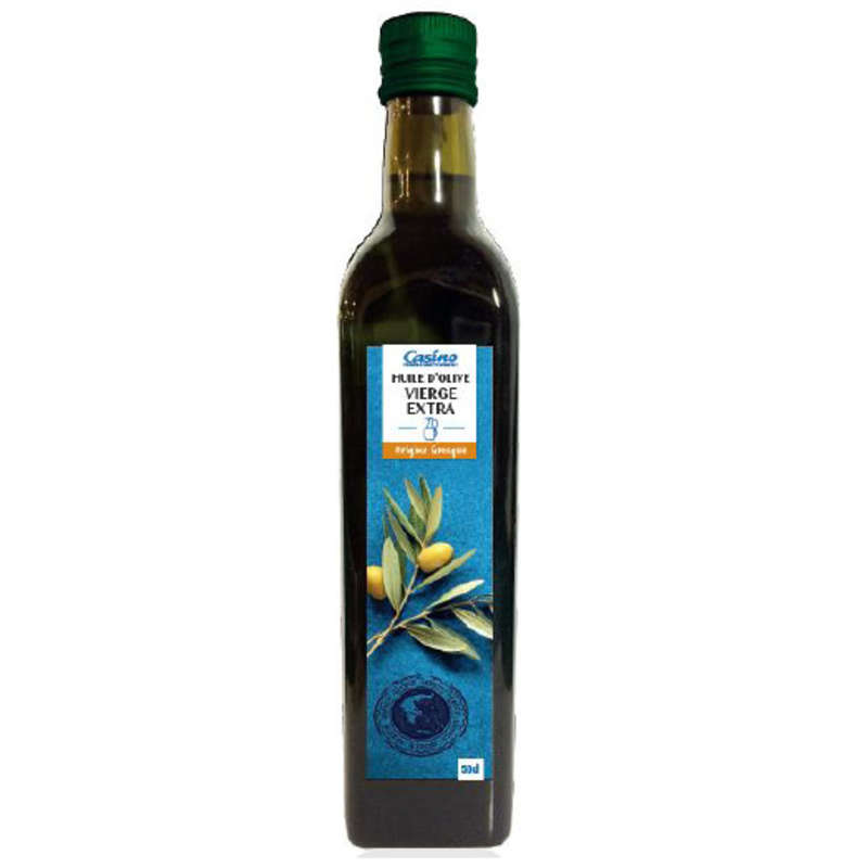 CASINO Huile d'olive - Vierge extra - Origine Grèce