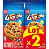 LU LU Granola - Extra Cookies éclats de Daim - 2x184g