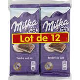 Milka Tablette De Chocolat - Lait - 1