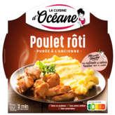 La Cuisine d'Océane Poulet Rôti Et Purée À L'ancienne - 300g