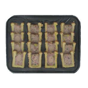 Plateau panaché mini pâtés en croûte - 16 tranches