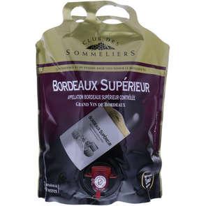 Bordeaux Supérieur - AOC - Alc. 12,5% vol. - Vin rouge