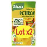 Knorr Velouté De Potiron À La Crème Fraîche - Riche En Légum... - 2x0,5l