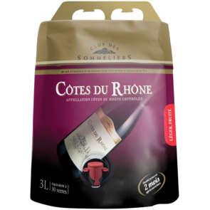 Côtes du rhône - AOC - Alc. 12% vol. - Vin rouge