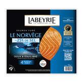 Labeyrie Le Norvège - Saumon En Tranches - 4 Tranches - 10g