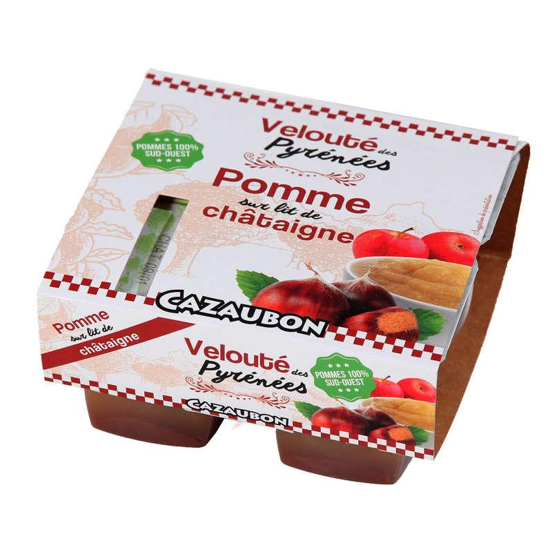 CAZAUBON Velouté des Pyrénéees - Pomme sur lit de châtaigne ...