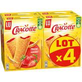 LU Lu Cracotte - Craquinette Fraise - 4x200g