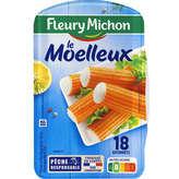 Fleury Michon FLEURY MICHON Le Bâtonnet Moelleux - Surimi - x18 - 288g