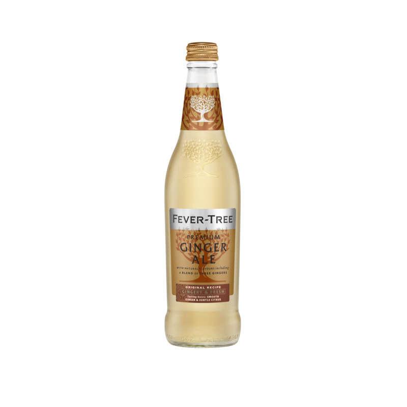 FEVER TREE Premium Ginger - Eau pétillante - Au gingembre - ...