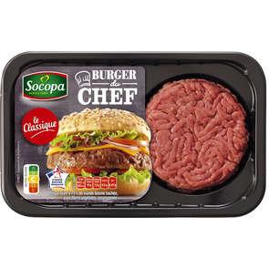 L'ultra savoureux - Burger du chef