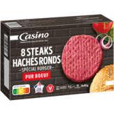 Steaks hachés ronds spécial burger - VBF