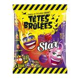 VERQUIN Confiseur Têtes Brûlées - Star - Bonbons Acidulés - Fraise Cas... - 100g