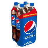 Pepsi Soda Cola Avec Édulcorant - 4x1,5l