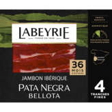 Labeyrie LABEYRIE Jambon pata negra - Grande réserve - 36 mois d'affi... - X4