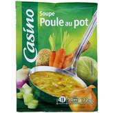 CASINO Soupe - Poule au pot - Soupe déshydratée 72