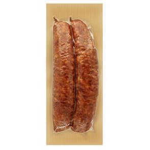 Saucisse de Montbéliard cru fumée en Tuyé - Igp