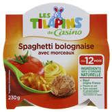 Assiette spaghetti bolognaise 230g