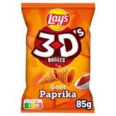 Bénénuts 3d's Bugles - Biscuits Apéritifs - Paprika - 85g