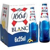 1664 1664 Blanc - Bière Blanche - Alc. 5% Vol. - 6x25cl