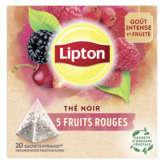 Lipton LIPTON Thé 5 fruits rouges - x20