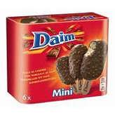 Daim 6 Mini Bâtonnets Glacés -