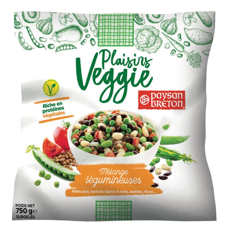 Mélange de légumes et légumineuses PAYSAN BRETON, 750g