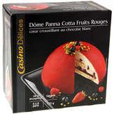 CASINO DELICES Dôme panna cotta - Fruits rouges -