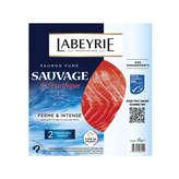 Labeyrie LABEYRIE Tranches de saumon fumé sauvage du Pacifique - x2