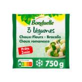 Bonduelle Mélange 3 Légumes Trio De Choux - Choux Fleur Broc... -