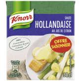 Knorr KNORR Sauce Hollandaise au Jus de Citron - 30 cl