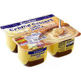 CASINO Crème dessert - Saveur vanille sur lit au c