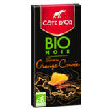 Côte d'Or Tablette De Chocolat - Noir - Orange Corsée - Biol... - 90g