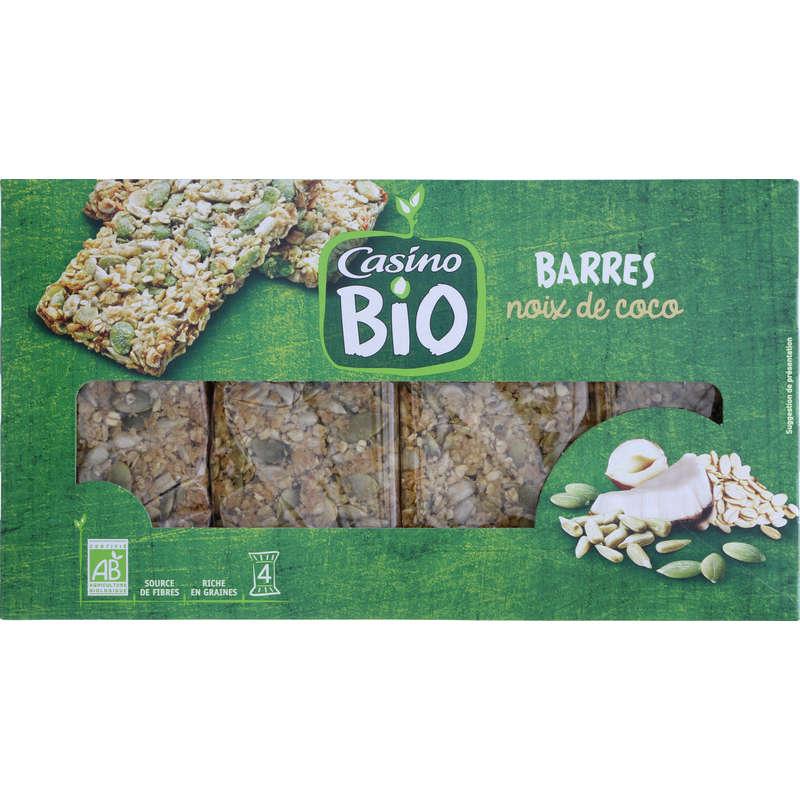 Bio - Barres de céréales - Noix de coco - Biologique